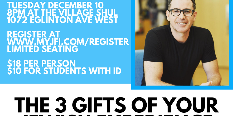 3 Gifts of Your Jewish Experience with Elan Divon
