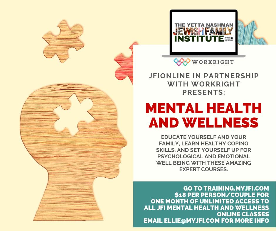 MENTAL HEALTH AND WELLNESS JFI ONLINE 2.