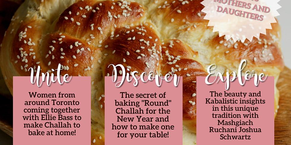 Beth Lida Rosh Hashana Challah Make