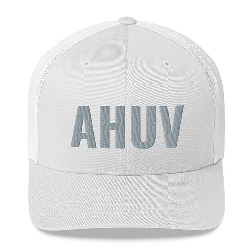 Trucker Cap - White - AHUV - Beloved