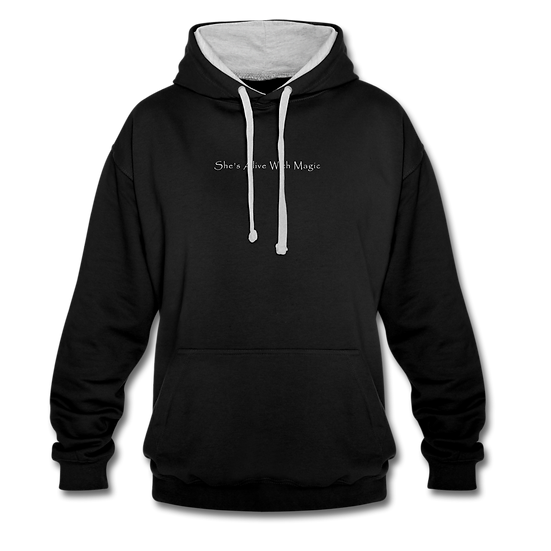 She's Alive With Magic Contrast Hoodie