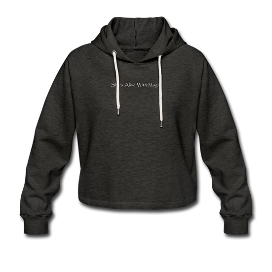 She's Alive With Magic Cropped Hoodie