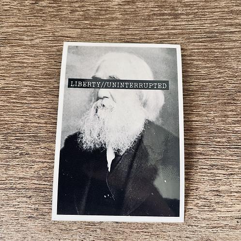 Lysander Spooner Vinyl Sticker