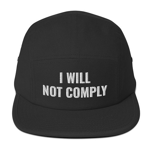 WON'T COMPLY Camper