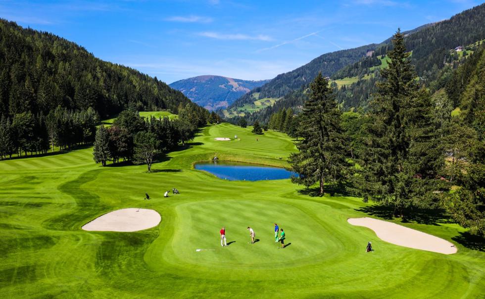 Golf_Panorama © Bad Kleinkirchheimer Ber
