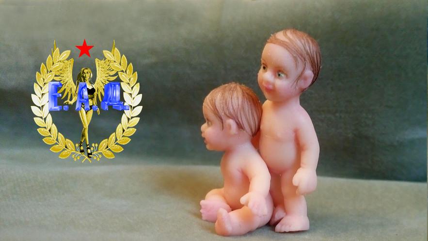 Baby. Scale 1:12 E.A.D.