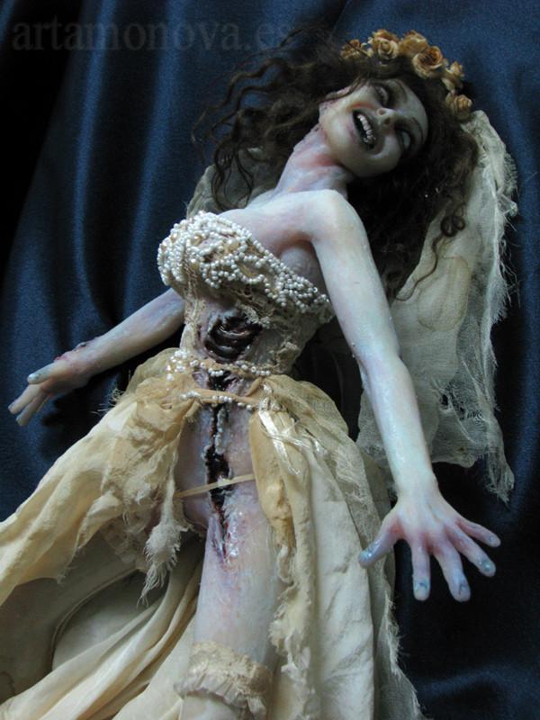 novia zombi, escala 1:4, E.A.D.