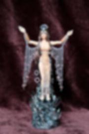 Diosa Akantia articulada escala1:12. Seamless
