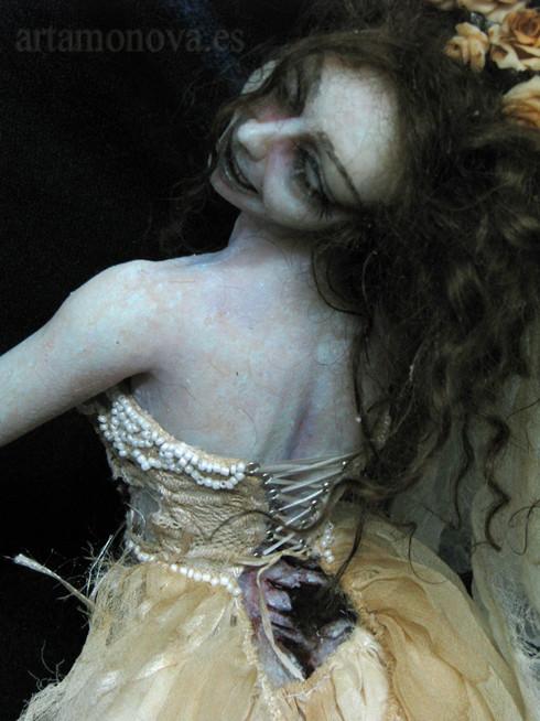 Novia zombi , escala 1:4, E.A.D.