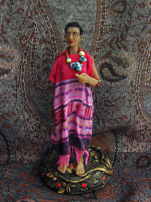 muñeca color  Arantza, E.A.D.