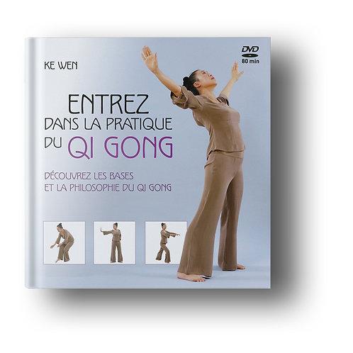Entrez dans la pratique du Qi Gong par KeWen LIVRE + DVD inclus