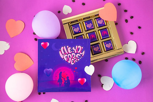 Love You Forever Chocolate Gift Box, 180 Gram