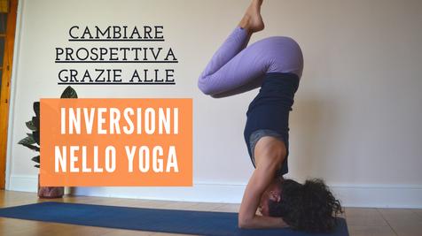 Le inversioni nello Yoga