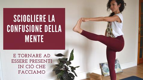 Yoga per ritrovare l'equilibrio