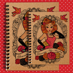 A4 or A5 Notebook
