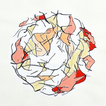The Sacred Geometry of the Ignudi 1