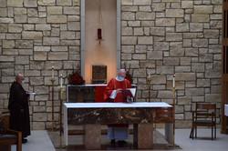 Pentecost - Dcn Tim Altar 1