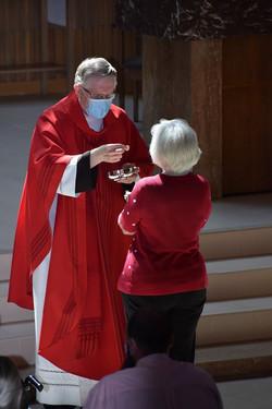 Pentecost - Doris Hund First     Communi