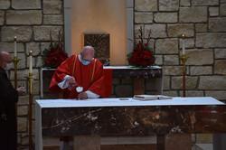 Pentecost - Dcn Tim Altar 2