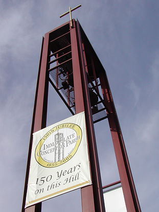 26 IC Bell Tower 150th Banner.jpg