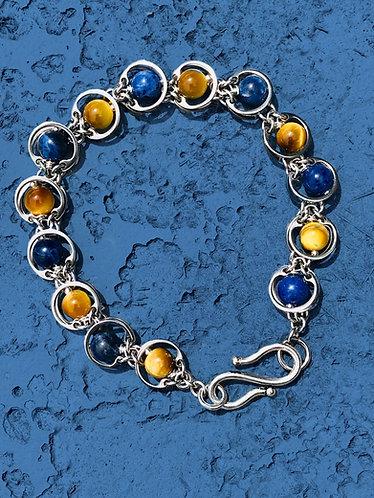 Link to Link Multi-Stone Bracelet