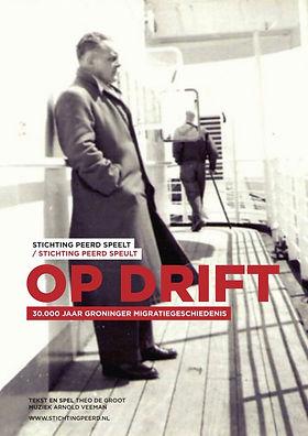 Poster voorstelling Op Drift