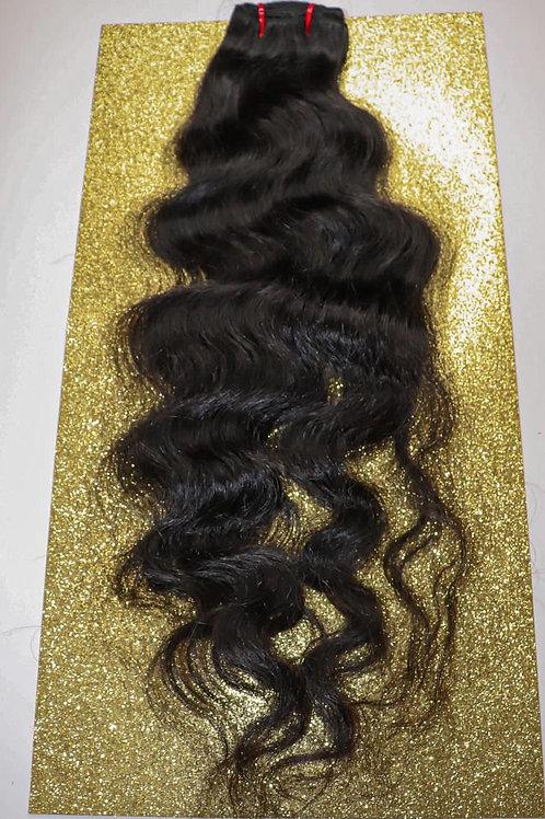 South Indian Raw Hair Wavy 18 inch Bundle