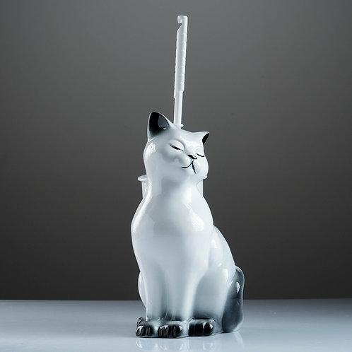"Подставка под ёрш ""Кошка"", с ёршиком"