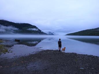 Vorbei an Seen, Bergen, Gletscher und dem pazifischen Ozean