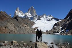 Laguna de los Tres - Argentinien