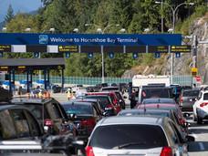 长周末温岛仍涌入了大量游客