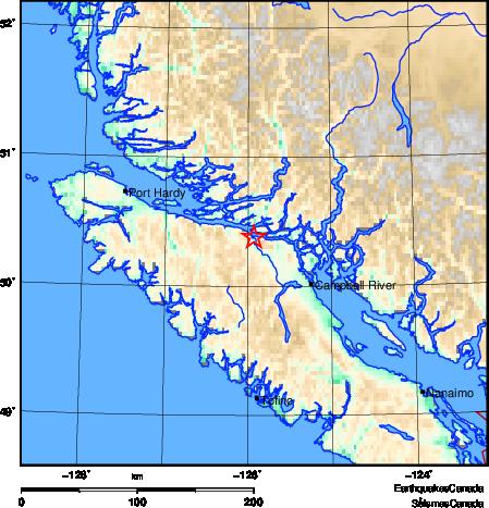 温岛接连发生两起地震