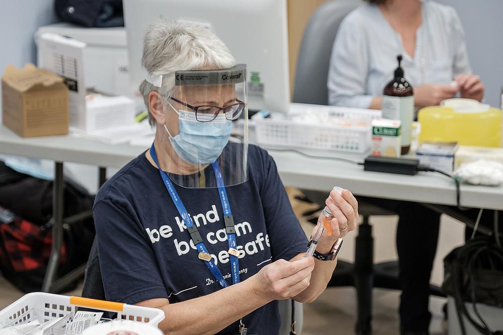温岛40%符合资格者已接种疫苗