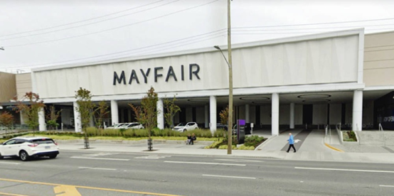 Mayfair Mall将被总公司出售