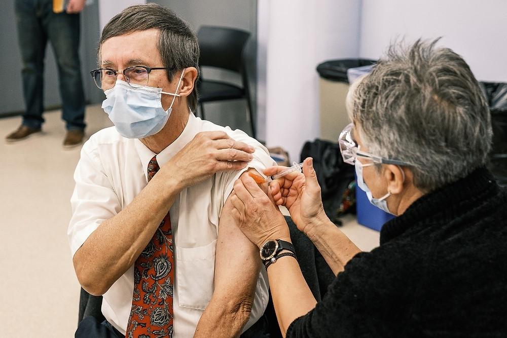 温岛每8人就有1人已接种疫苗
