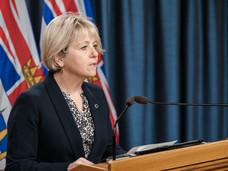 BC省公布周末共新增2,146例