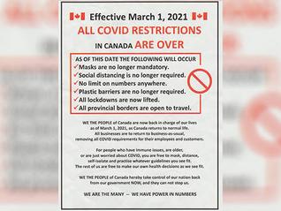 温岛出现不实海报,称疫情禁令将解除