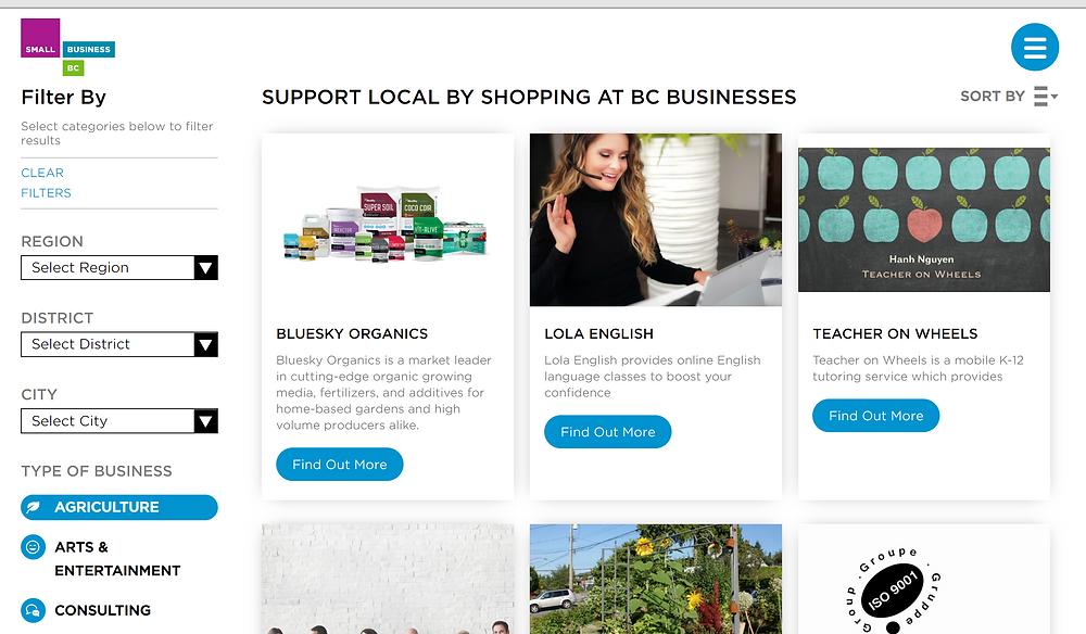 BC省推出网上市集推广本地商户