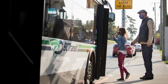 B.C. Transit除夕将不提供免费公交车服务