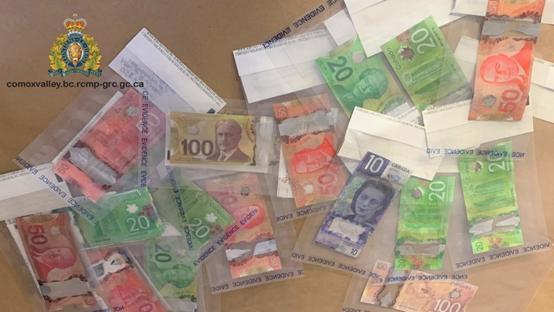 温岛警方破获假钞制造案