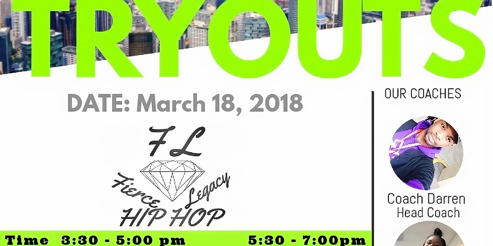 ALL STAR HIP HOP TRYOUTS