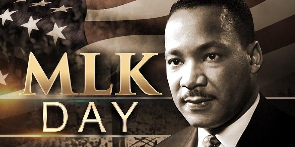 KIDS OUT OF SCHOOL (MLK DAY) FRIDAY, JAN. 17TH