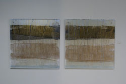 Lucite Paintings by Anne-Louise Ewen