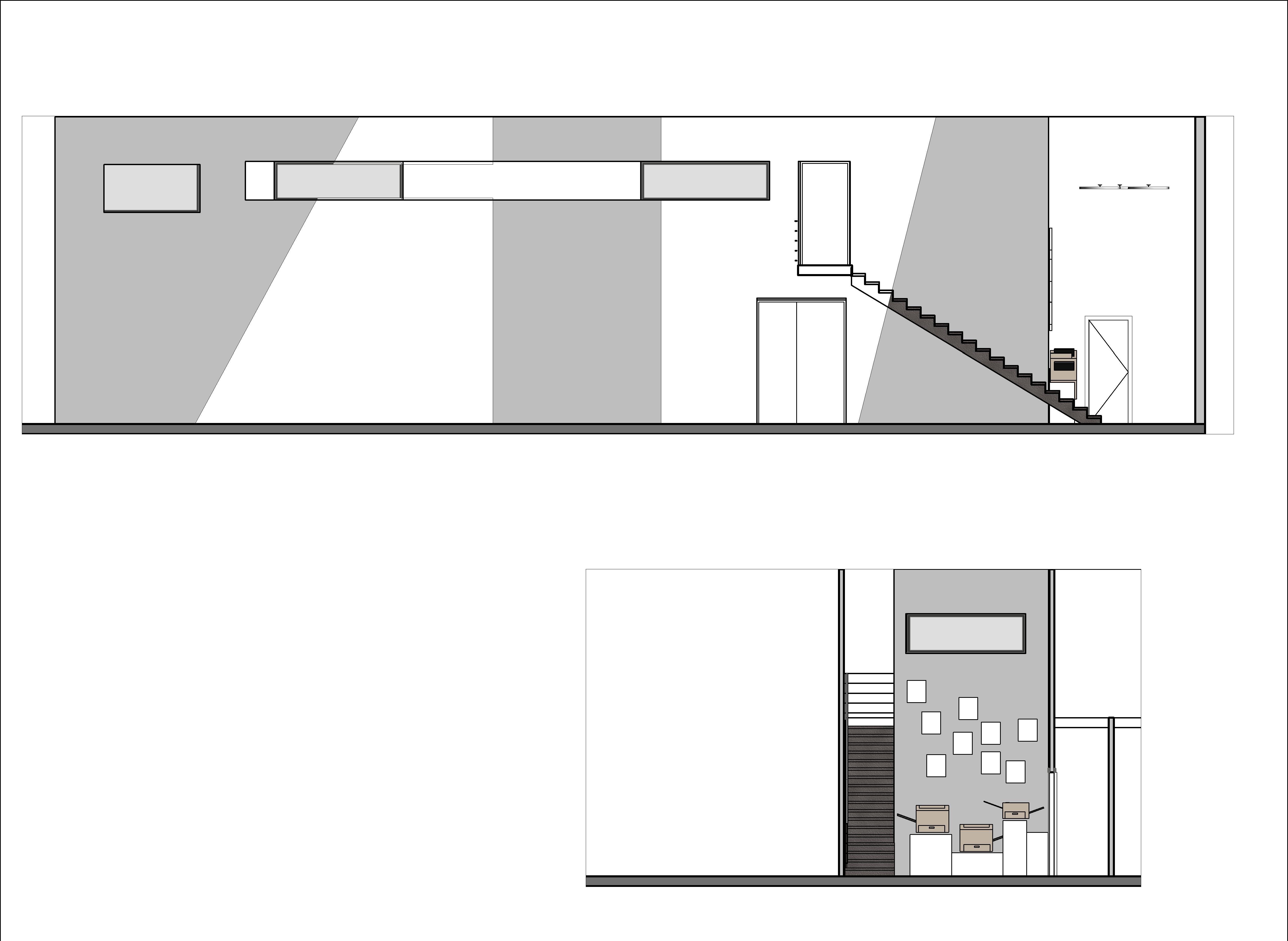 משרד נסלס חזיתות מדרגות