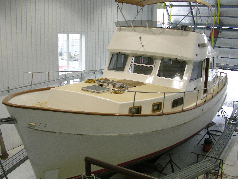Trawler refit