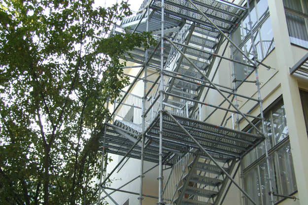 Emergency-staircase