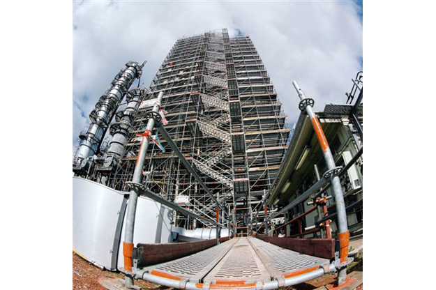 Industrial-access-staircase