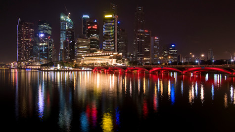 Singapore City Lights