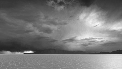 Storm Before the Calm BW