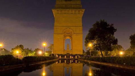 India Gate Reflection